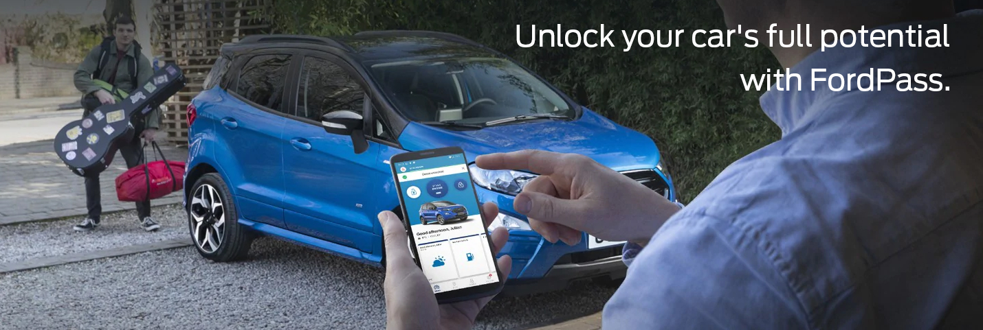 Unlock your car's full potential with FordPass.